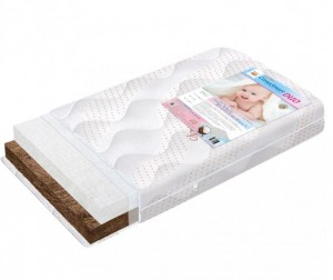 Матрас BoomBaby Clima smart Duo 120х60х12 см