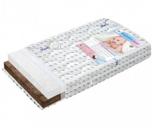 Матрас BoomBaby Innovation Duo 120х60х12 см