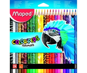 Maped Цветные карандаши Color Peps 24 цвета