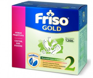 Friso Заменитель New 2 Gold Lock Nutri 6-12 мес 1200 г