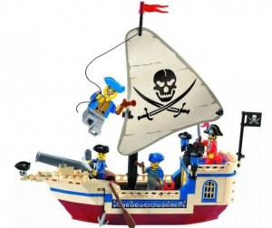 Enlighten Brick Pirates Series (188 деталей)