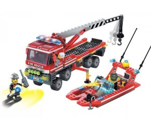Enlighten Brick Fire Rescue (420 деталей)