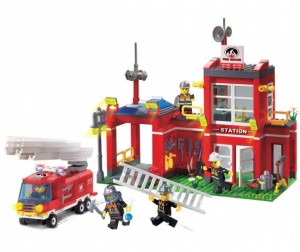 Enlighten Brick Fire Rescue (380 деталей)