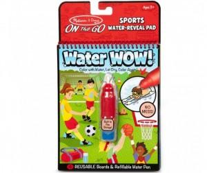 Раскраска Melissa & Doug Творчество Рисуем водой Спорт