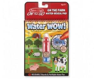 Раскраска Melissa & Doug Творчество рисуем водой Ферма