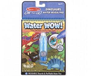 Раскраска Melissa & Doug Творчество Рисуем водой Динозавры