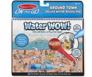 Раскраска Melissa & Doug Творчество Рисуем водой В городе Делюкс
