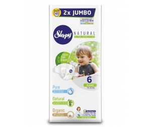 Sleepy Natural Подгузники XL (15-25 кг) 40 шт.