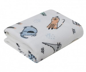 Baby Nice (ОТК) покрывало Micro Flannel Сафари 150х200 см