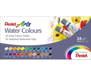 Pentel Акварель Water Colours 24 цвета