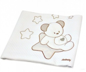 Плед Italbaby Sweet Star пике 65х80 см