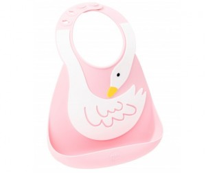 Нагрудник Make my day Baby Bib Swan