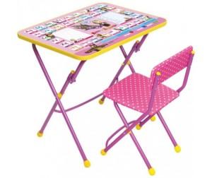 ника набор мебели маша и медведь стол партамягкий стул