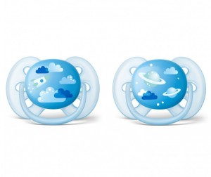 Пустышка Philips Avent Ultra Soft 6-18 мес. 2 шт