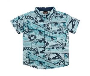 3afc852ed914c60 Playtoday Сорочка текстильная для мальчиков Форсаж 681101 ...
