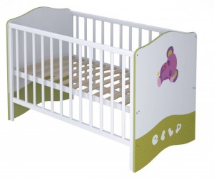 Кроватка-трансформер Polini kids Basic Elly 140х70 см