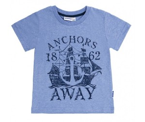 Winkiki Футболка для мальчика Anchors away